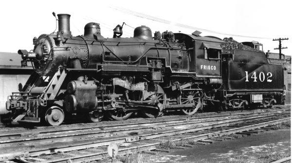 4-6-0 1402 at St. Louis, Missouri in August 1944 (Joe Collias)