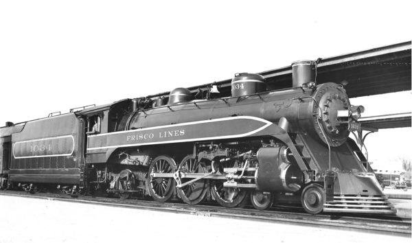 4-6-2 1034 (date and location unknown) (Joe Collias)