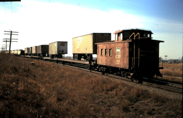 Caboose 1147 (date and location unknown)