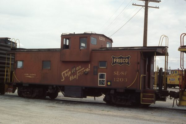 Caboose 1203 (location unknown) on May 13, 1980