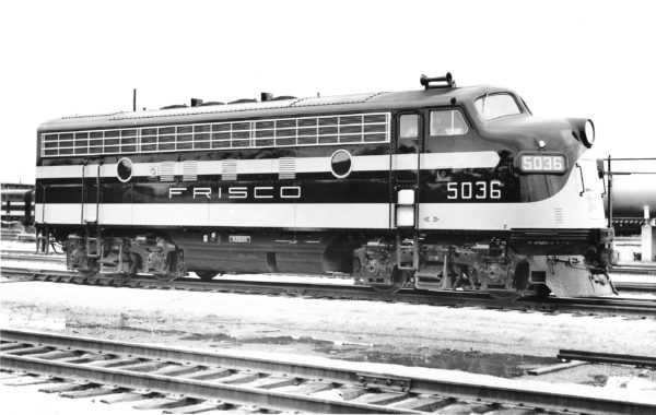 F7A 5036 at Springfield, Missouri in May 1950 (Joe Collias)