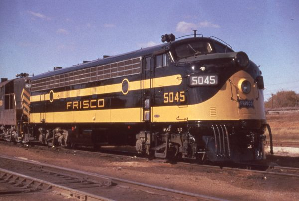 FP7 5045 at Springfield, Missouri in November 1960