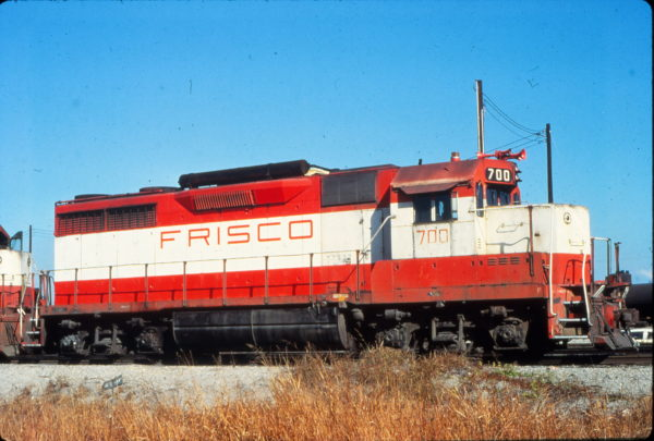 GP35 700 at Memphis, Tennessee in June 1970 (Vernon Ryder)