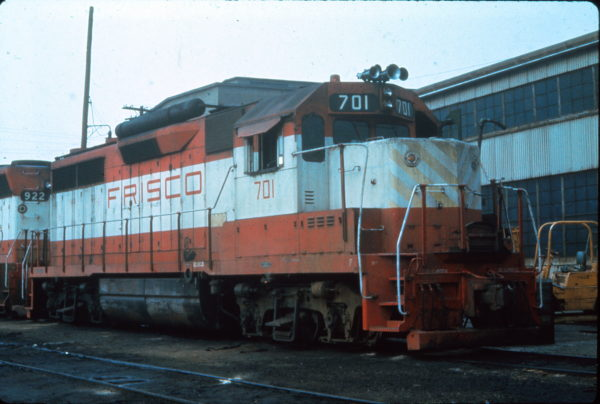 GP35 701 at Portsmouth, Virginia in July 1979 (Vernon Ryder)