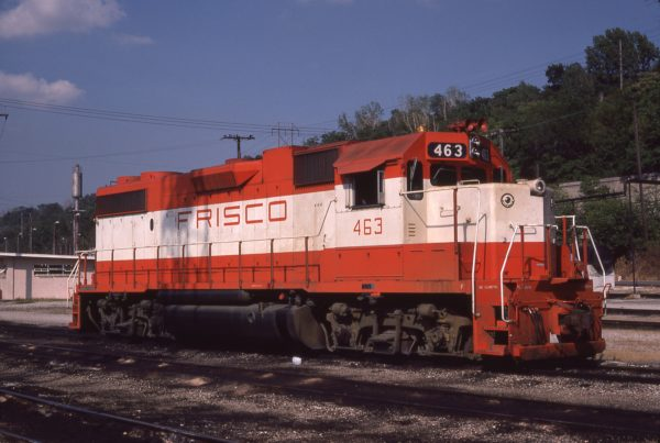 GP38-2 463 at Kansas City, Missouri on August 15, 1977 (Jim Wilson)