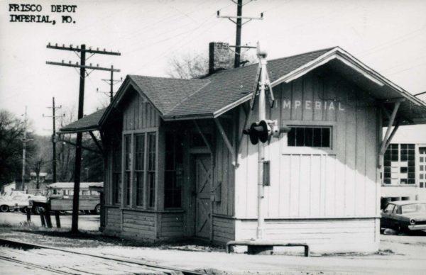 Imperial, Missouri Depot (date unknown) (Postcard)