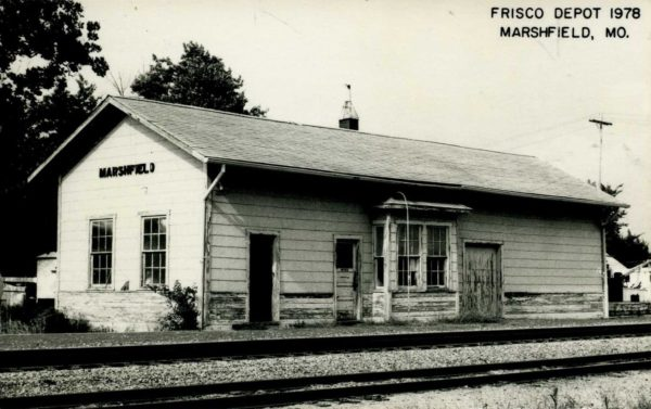 Marshfield, Missouri Depot