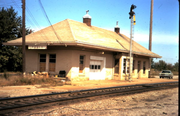 Paola, Kansas Depot (date unknown)