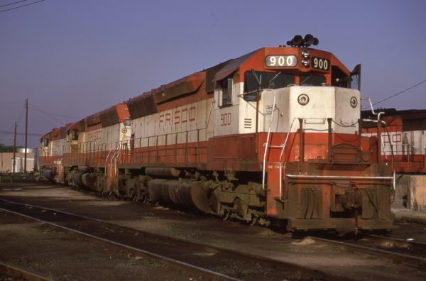SD45s 900 and 930 (location unknown) in May 1974