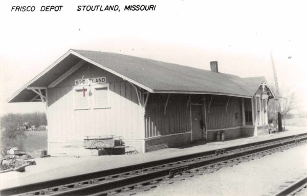 Stoutland, Missouri Depot (date unknown)