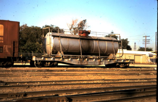 Tank Car 109603 at Oklahoma City, OK (date unknown)