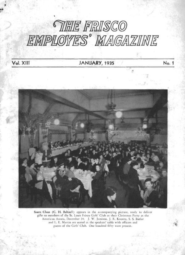 Frisco Employes' Magazine – January 1935