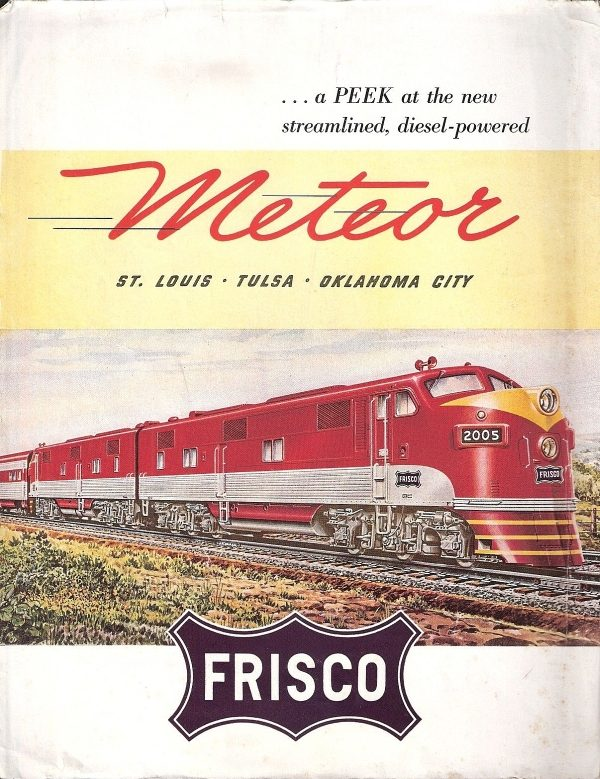 1948 - A Peek at the New Streamlined, Diesel-Powered Meteor