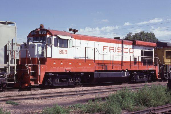 B30-7 869 at Lincoln, Nebraska in September 1980 (J.C. Butcher)
