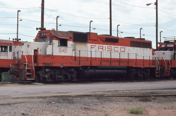 GP38AC 640 at Tulsa, Oklahoma on August 31, 1980 (P.B. Wendt)
