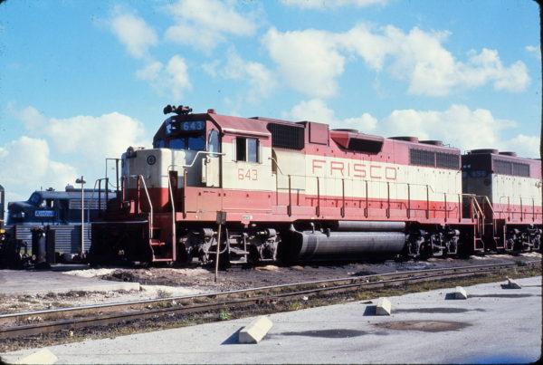 GP38AC 643 at Hialeah, Florida in January 1973 (Robert Olesski)