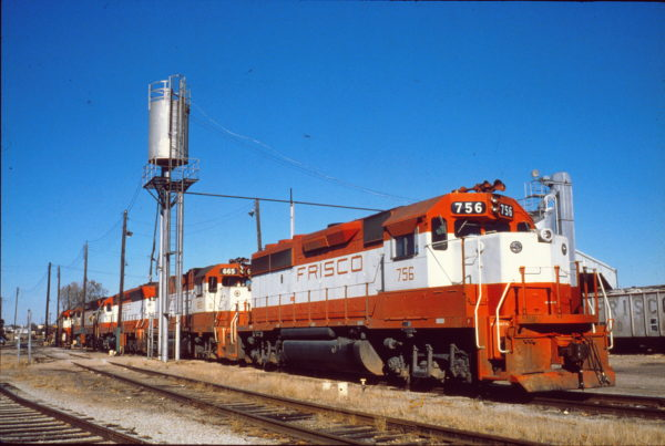 GP40-2 756 and GP38-2 665 (date and location unknown) (Bledsoe Rail Slides)