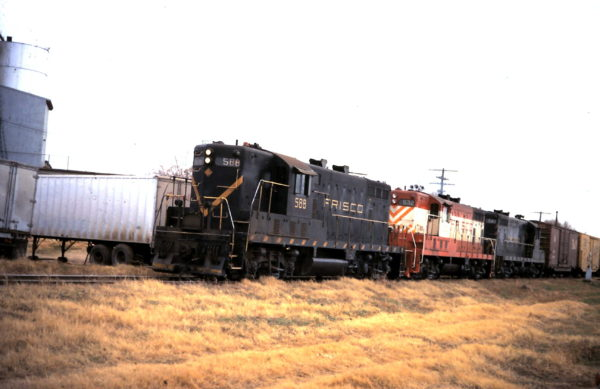 GP7s 588, 532 and 541 (date and location unknown)
