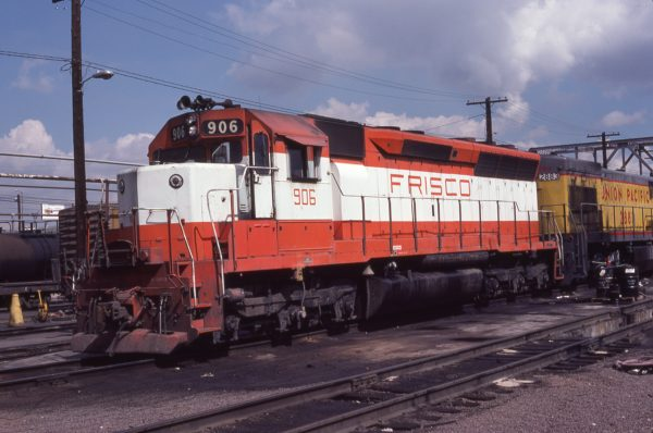 SD45 906 at Denver, Colorado on September 14, 1979 (Mark Perra)