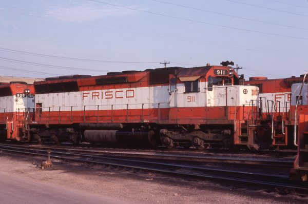 SD45 911 at Springfield, Missouri in July 1978 (R. Durfee)