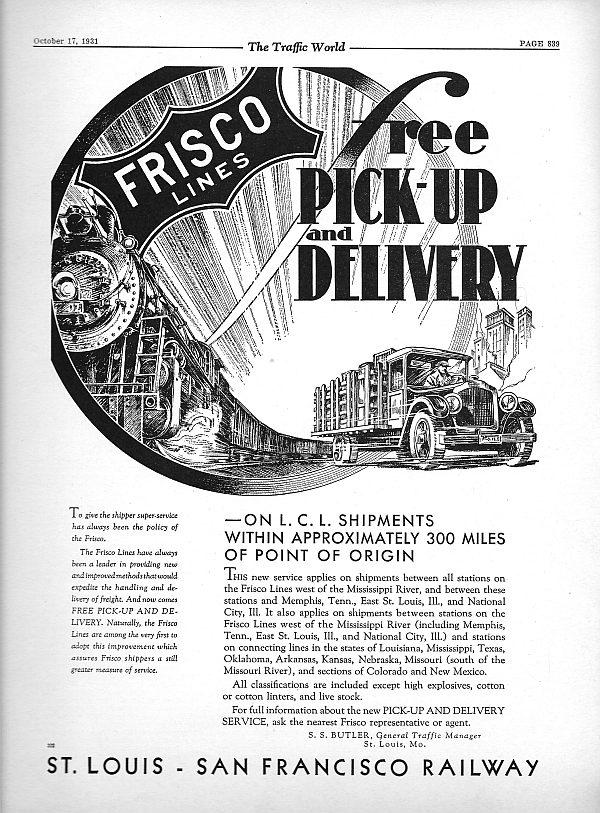 The Traffic World - October 17, 1931