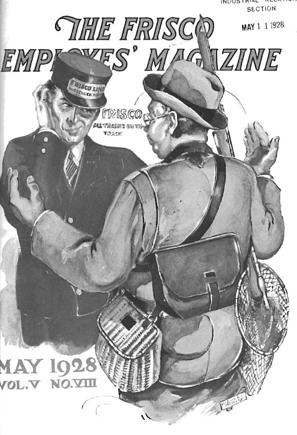 Frisco Employes' Magazine – May 1928