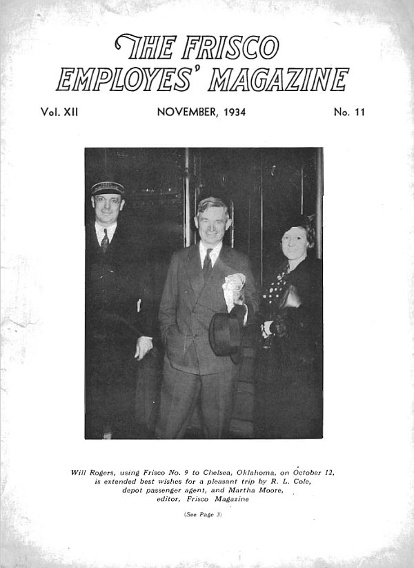 Frisco Employes' Magazine – November 1934
