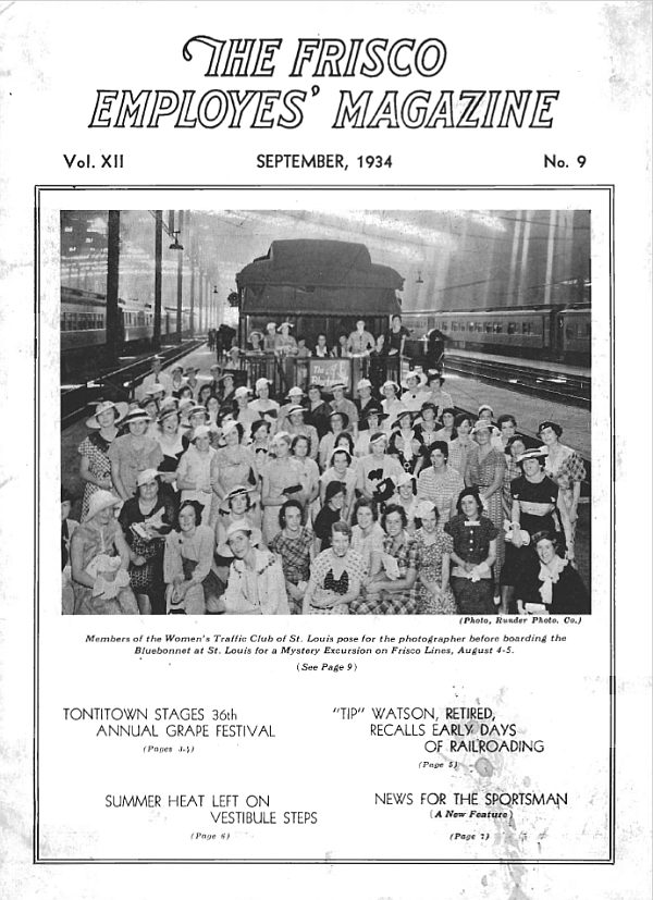 Frisco Employes' Magazine – September 1934