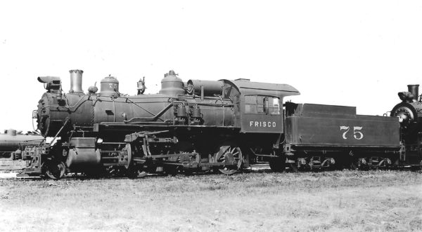 4-6-0 75 at Chaffee, Missouri on May 30, 1939 (Arthur B. Johnson)
