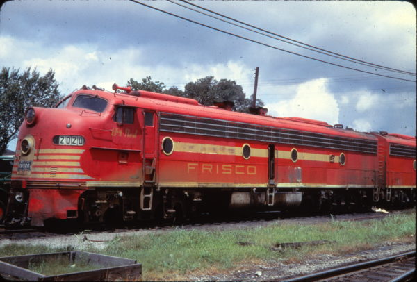 E8A 2020 (Big Red) at Springfield, Missouri in December 1958 (Golden Spike Productions)