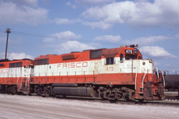 GP38-2 475 at Tulsa, Oklahoma on May 18, 1980 (J.C. Benson)