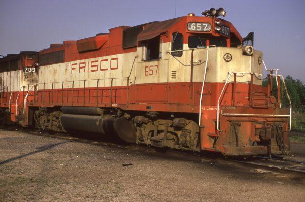 GP38AC 657 at Birmingham, Alabama in May 1974 (F.S. Novak)