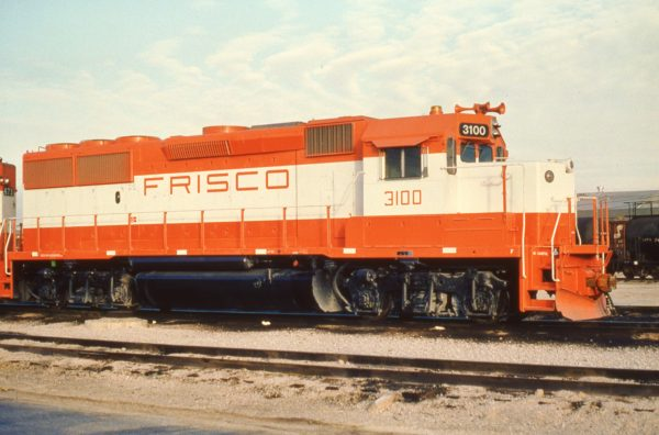 GP50 3100 at Tulsa, Oklahoma on December 22, 1980