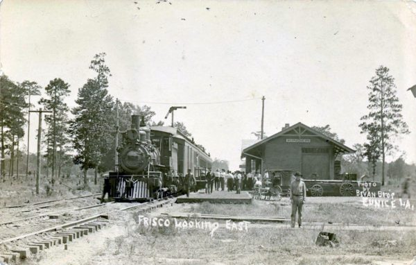 Kinder, Louisiana Depot