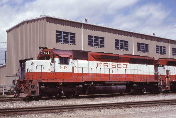 SD45 933 at Tulsa, Oklahoma on May 16, 1980 (Bob Graham)