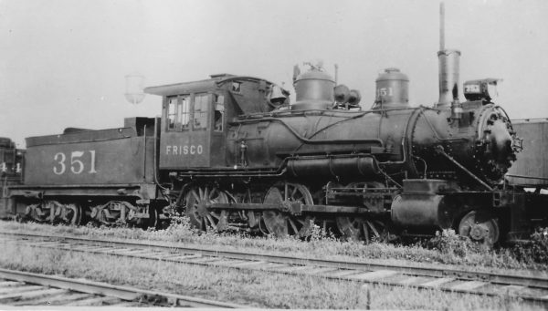2-6-2 351 at Chaffee, Missouri on July 30, 1935 (Arthur B. Johnson)