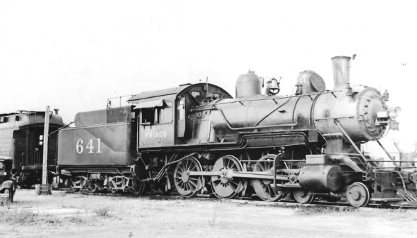 4-6-0 641 at Mineral Wells, Texas on June 18, 1939 (Arthur B. Johnson)