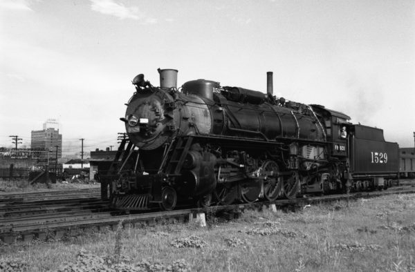 4-8-2 1529 at Memphis, Tennessee (date unknown) (Williams)