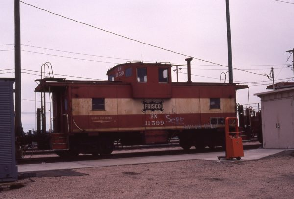 Caboose 11599 (Frisco 1271) at North Platte, Nebraska on June 18, 1981