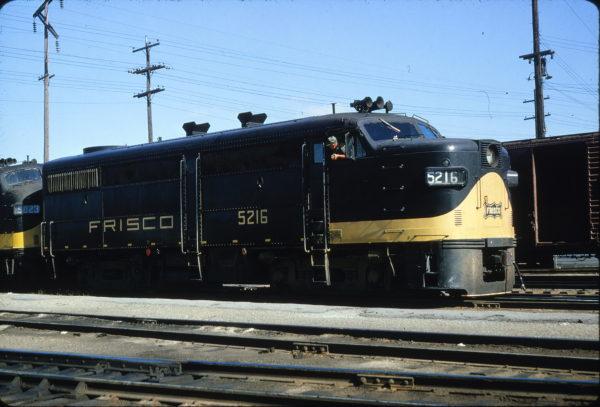 FA-1 5216 at Springfield, Missouri on July 10, 1965 (Richard Wallin)
