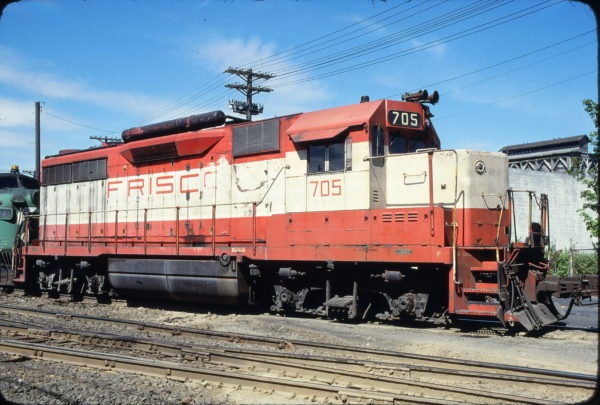 GP35 705 at Tacoma, Washington in May 1979 (J. Seidl)