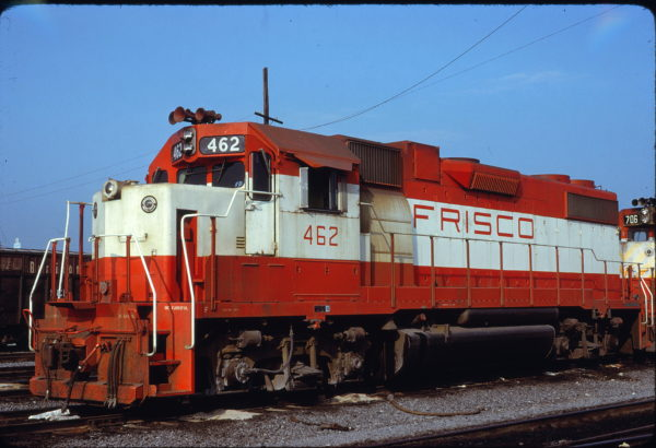 GP38-2 462 (location unknown) in February 1979