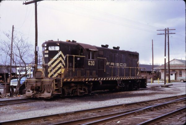 GP7 630 at Jonesboro, Arkansas on April 9, 1973 (John Nixon)