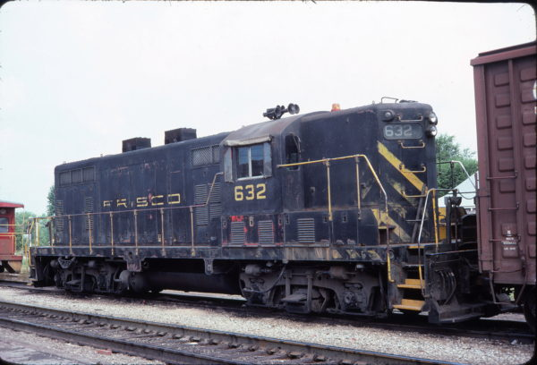 GP7 632 (location unknown) August 1977