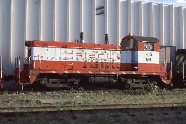 NW2 413 (Frisco 253) at Denver, Colorado on June 26, 1984 (Paul Wester)