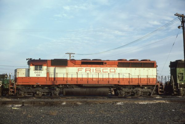 SD45 6681 (Frisco 933) (location unknown) in February 1981