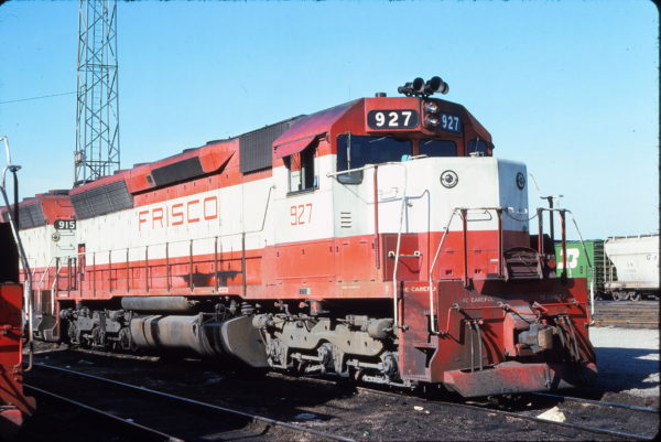 SD45 927 (location unknown) in May 1976