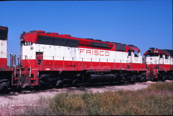 SD45 932 at Springfield, Missouri on September 18, 1978