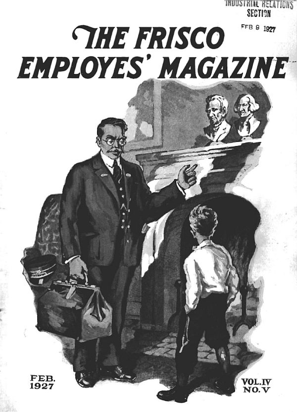 Frisco Employes' Magazine – February 1927