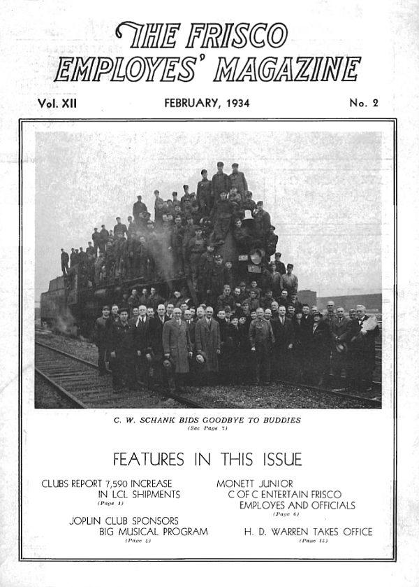 Frisco Employes' Magazine – February 1934
